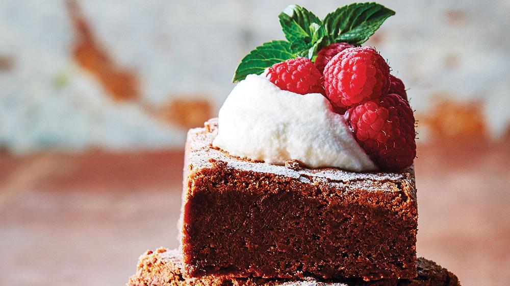 Brownies con almendras