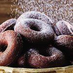 Donas de chocolate horneadas