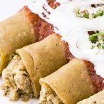 Enchiladas de avena