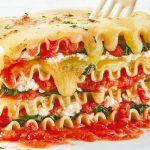 lasana vegetariana receta