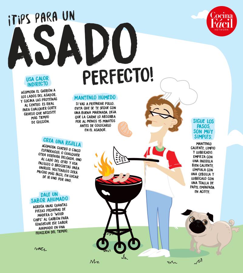 Tips para un asado perfecto