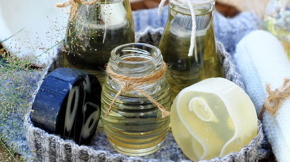 Mascarillas para el cabello con aceite de coco