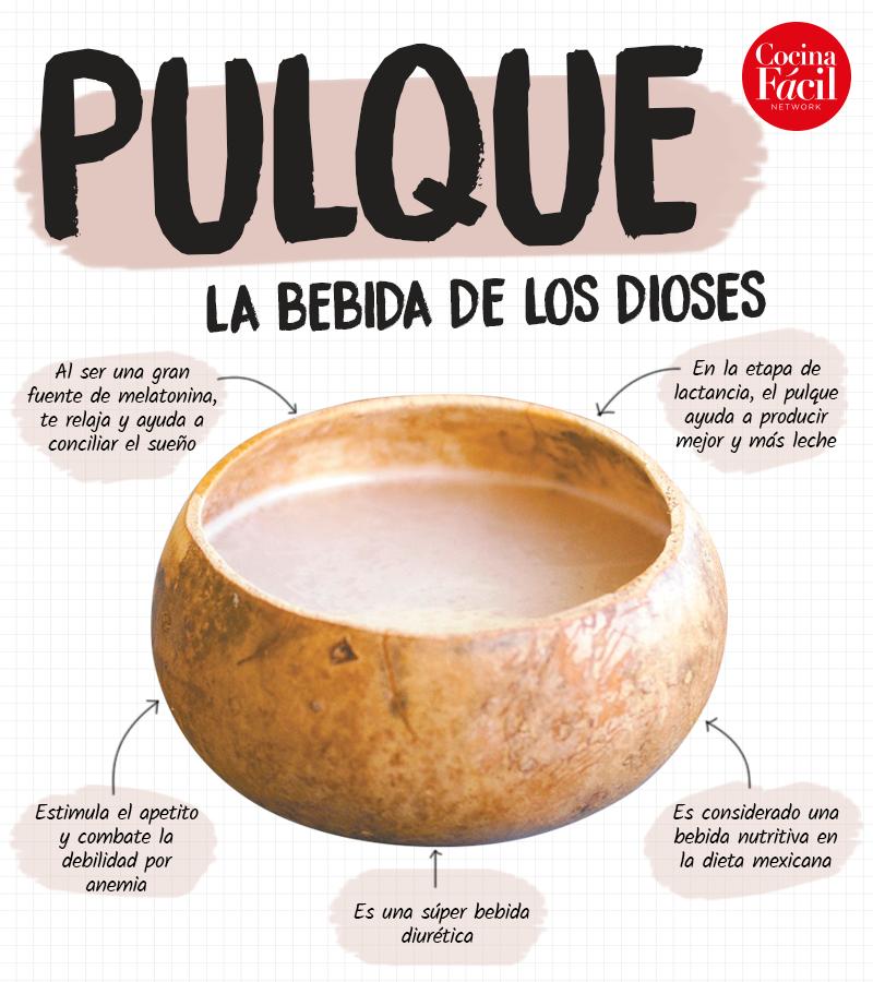 Pulque infografía