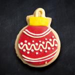 galleta esfera navideña