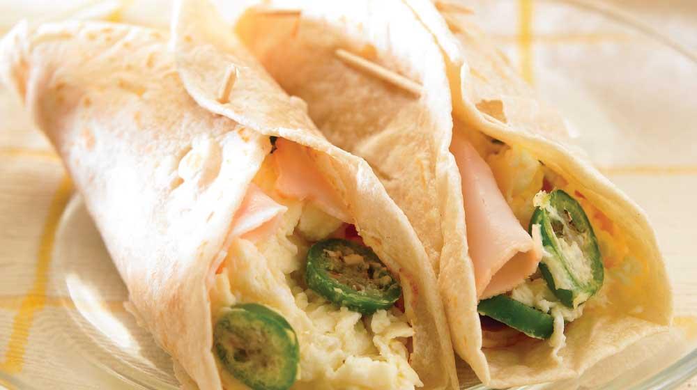 Burritos ligeros para cenar