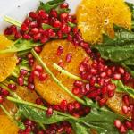 Ensalada de espinaca con naranja