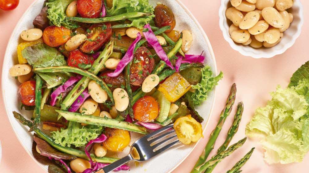 Verduras rostizadas