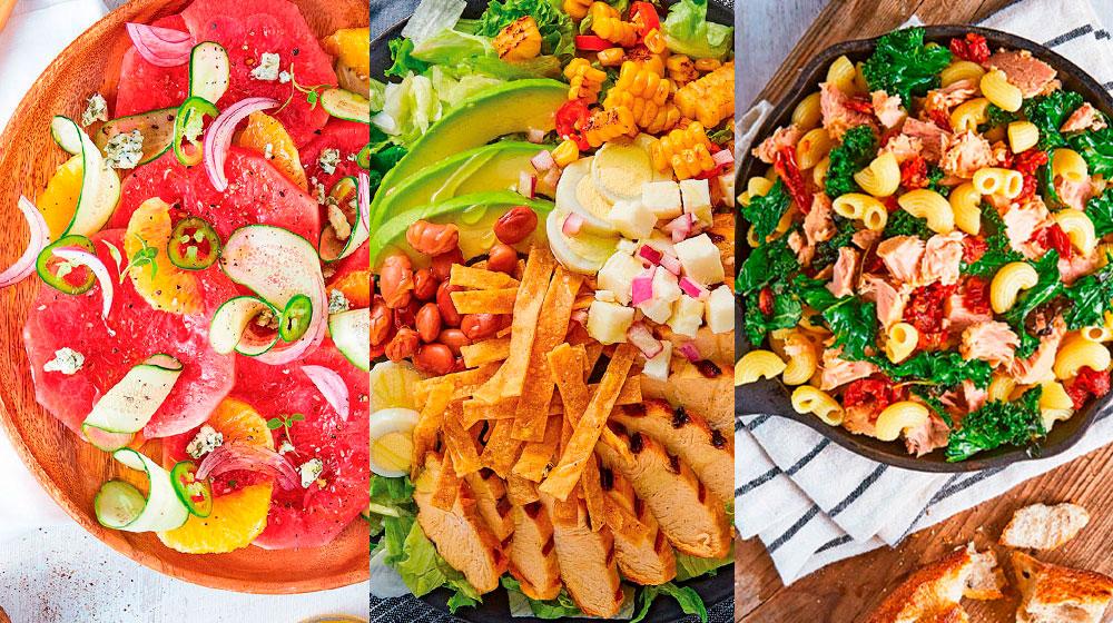 30 ensaladas saludables: recetas para empezar a cuidarte
