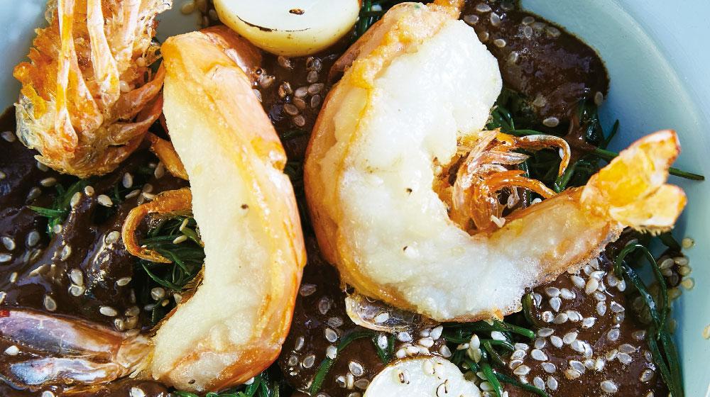 Romeritos con camarón