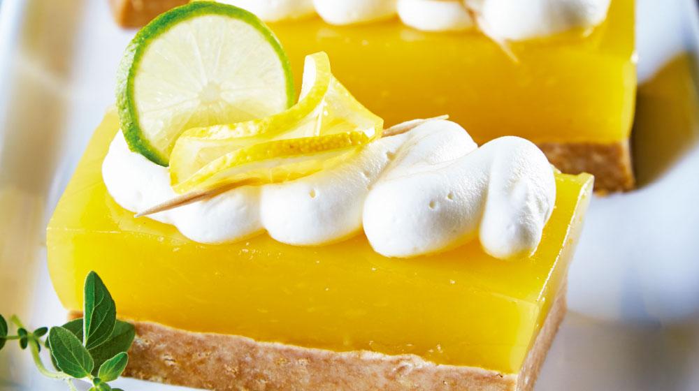 barritas de limón