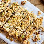 Barritas de granola muy saludables para hacerlas en casa