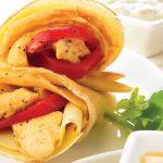 Crepas de pollo gratinado súper deliciosas
