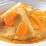 Crepas Suzette de mandarina