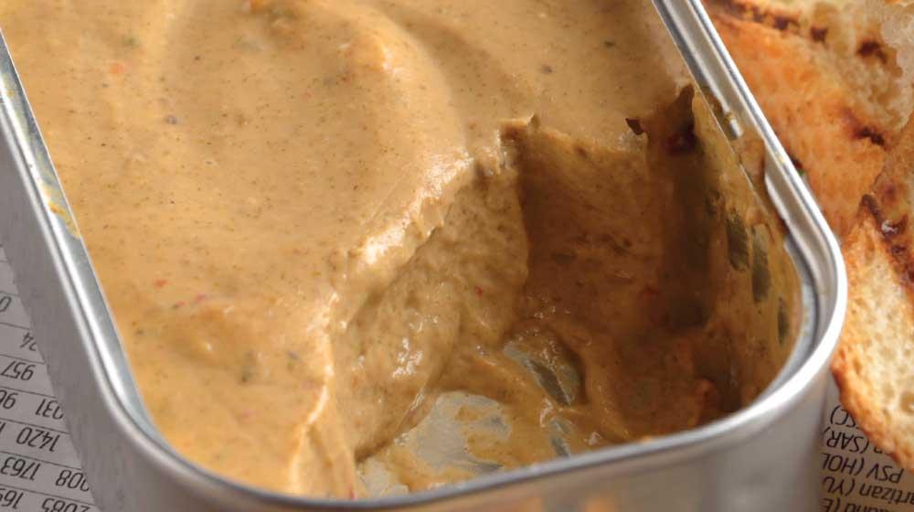 Dip de ostión ahumado en mousse