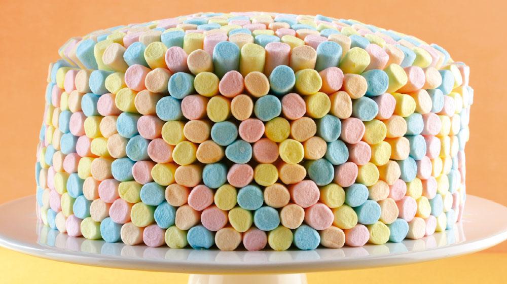 Pastel de bombones