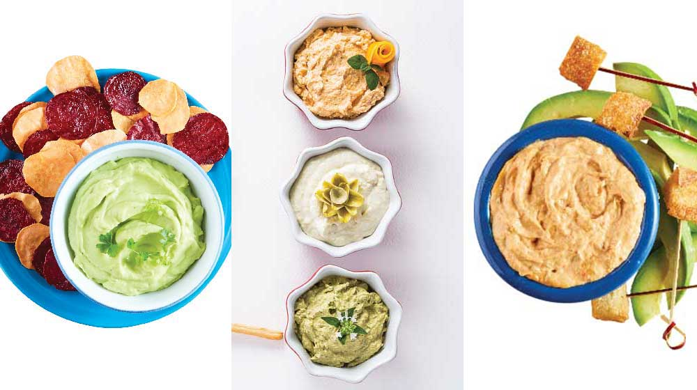 15 deliciosos dips para que acompañes tus botanas favoritas