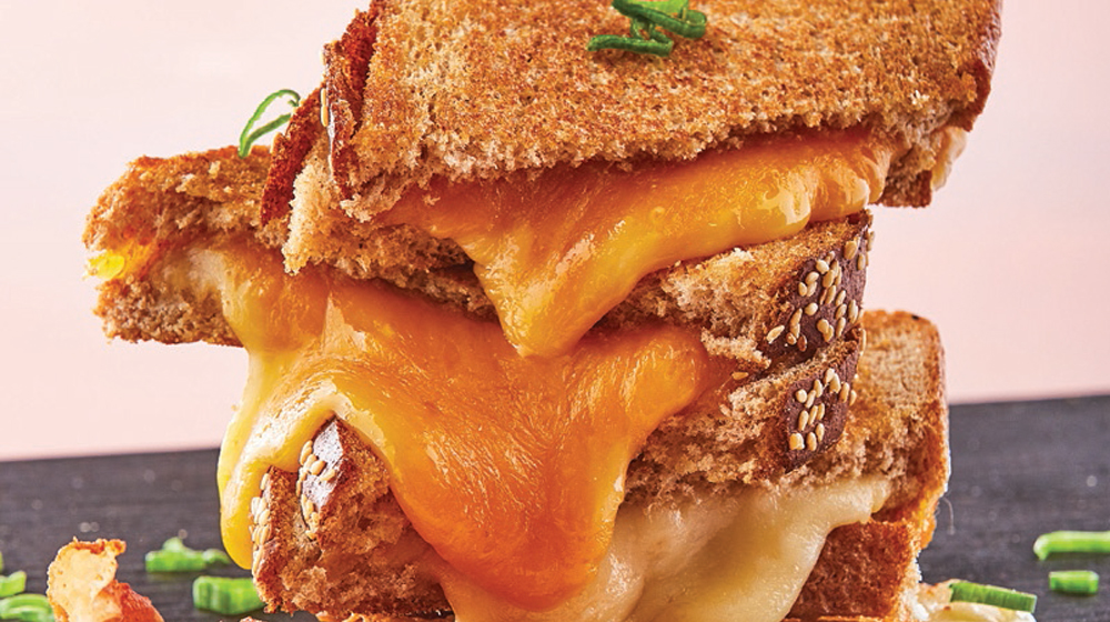sándwich de quesos