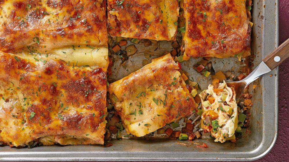 Recetas En Microondas Lasaña De Verduras Buenísima Cocina Fácil
