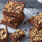 brownie de chocolate con coliflor