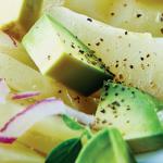 Receta ensalada de chayote con aguacate