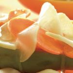 Receta ensalada de chayote crudo y zanahoria