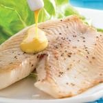 Filete de pescado a la mostaza
