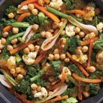 Guarnición de verduras agridulces