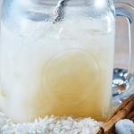 Agua de horchata de arroz