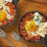 Huevos en cazuela libaneses