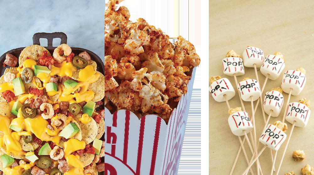 Snacks de película para disfrutar los Oscars 2019