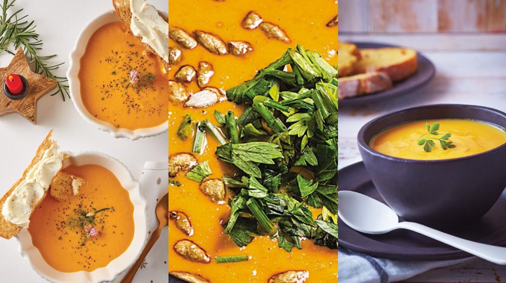 9 deliciosas formas de preparar crema de zanahoria muy fáciles y rápidas