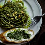 espagueti verde