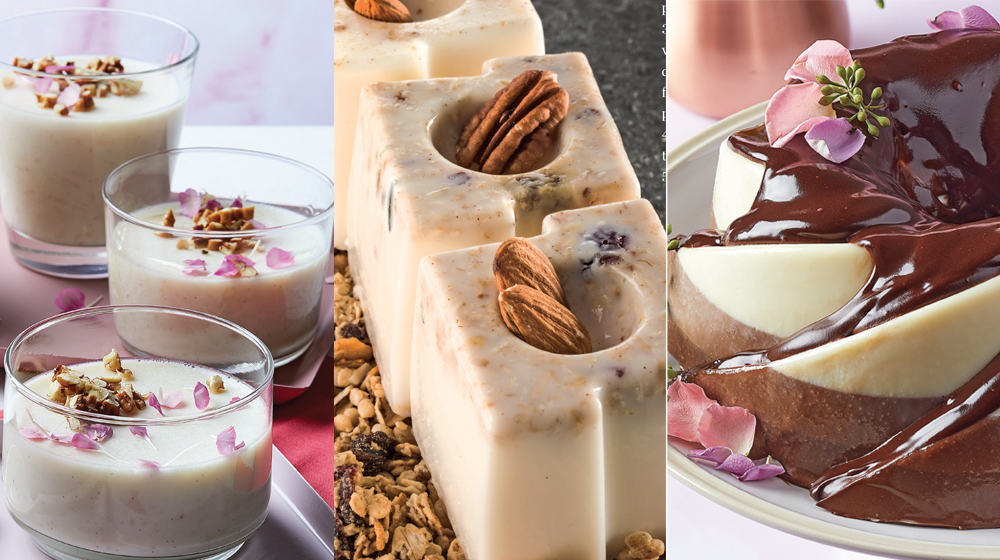 gelatinas de leche