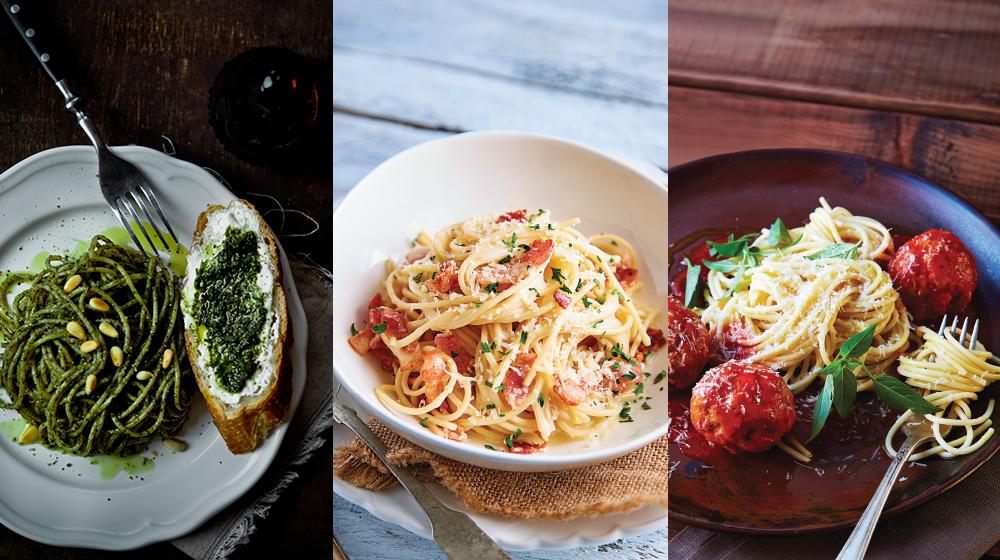 ¡El espagueti no tiene límites! Te damos 12 recetas para que lo prepares de forma deliciosa.