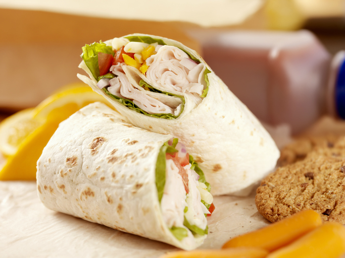 wraps snack saludable