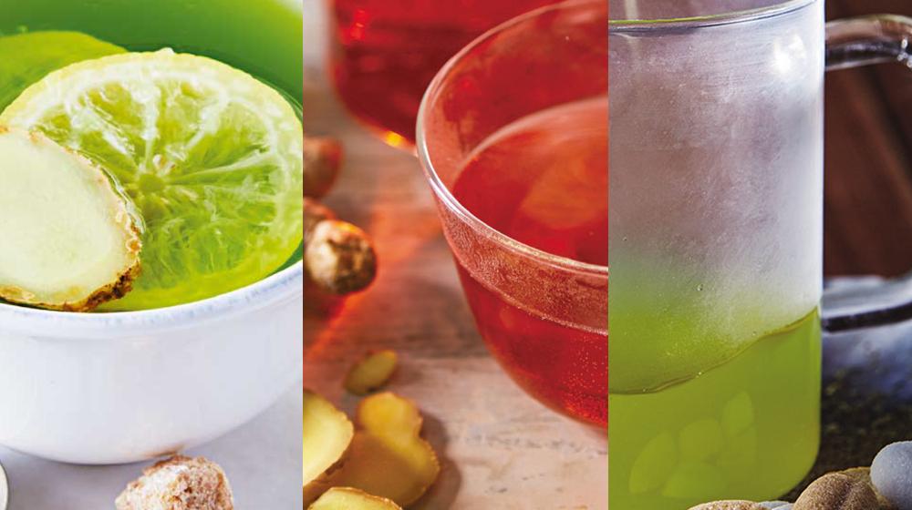 3 deliciosas formas de preparar té de jengibre