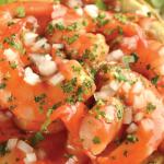 Prueba estas tradicionales y deliciosas tostadas de camarón
