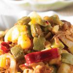 Ricas y sanas tostadas de nopal con carne
