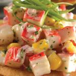 Exquisitas tostadas de surimi para vencer tu antojo