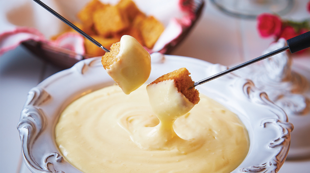 fondue clásico