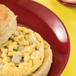 Bisquet de huevo para niños
