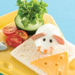 Desayunos para niños nutritivos: huevo ratón