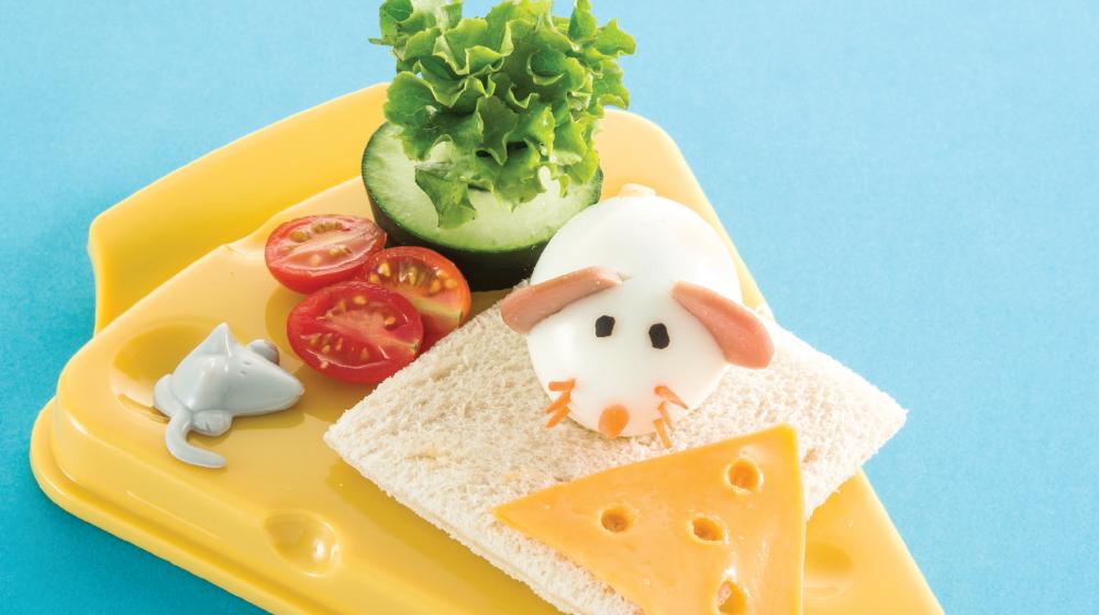 Desayunos Para Niños Nutritivos Huevo Ratón Cocina Fácil