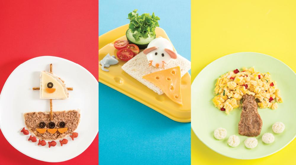 Desayunos para niños, saludables y divertidos.