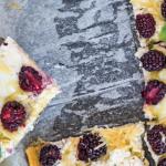 Pizza receta con queso ricotta y zarzamora