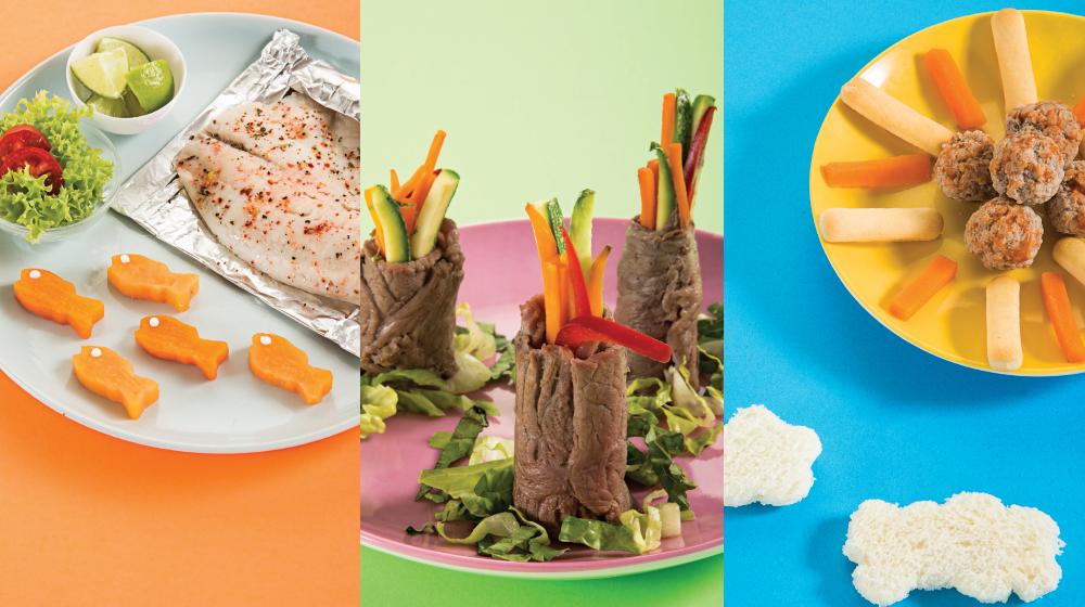 8 deliciosas ideas de plato fuerte para niños