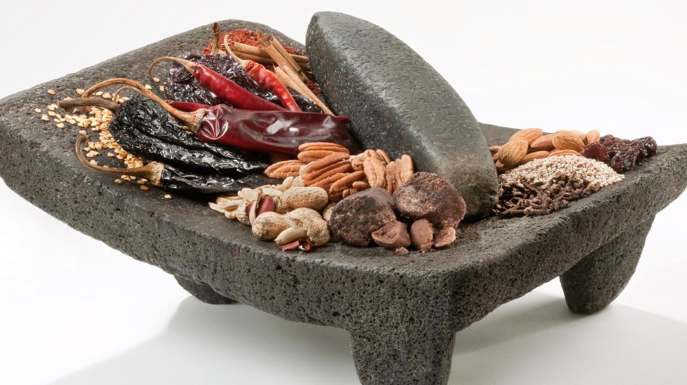ingredientes básicos del mole