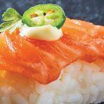 platón de sushi