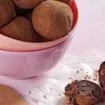 trufas de cocoa