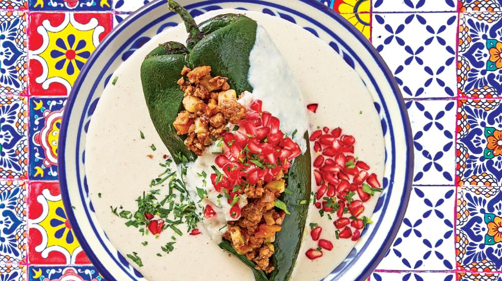 4 deliciosas formas de preparar chiles en nogada
